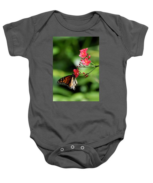 Butterfly And Blossom Baby Onesie