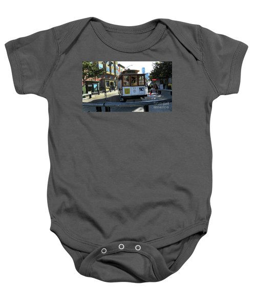 Cable Car Turnaround Baby Onesie