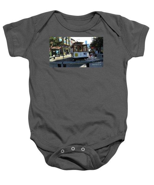 Cable Car Turnaround Baby Onesie