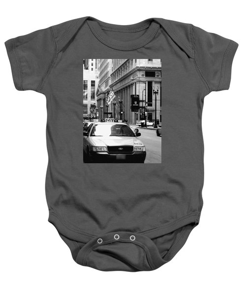 Cabs In The City Baby Onesie