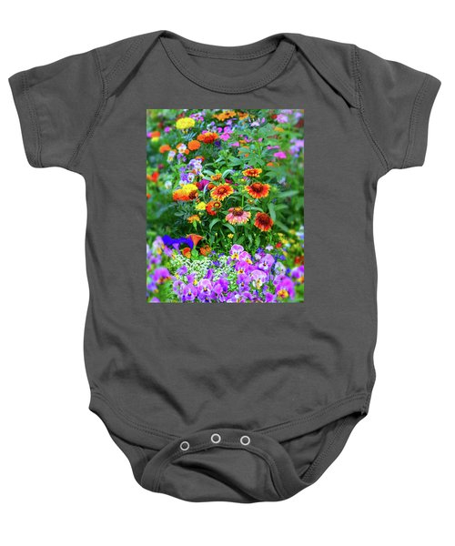 Summer Symphony Of Color Baby Onesie