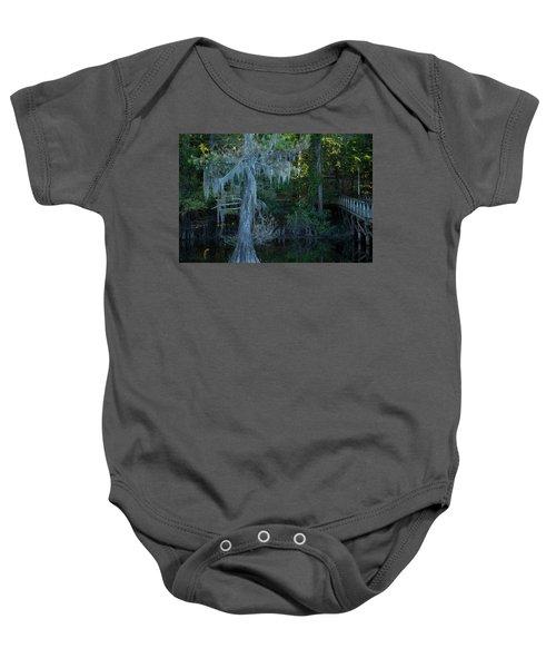 Caddo Lake #1 Baby Onesie