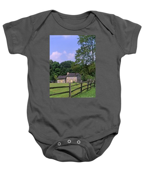 1e140 Caesar Creek Pioneer Village Photo Baby Onesie