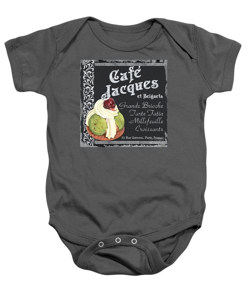 Cafe Jacques Baby Onesie