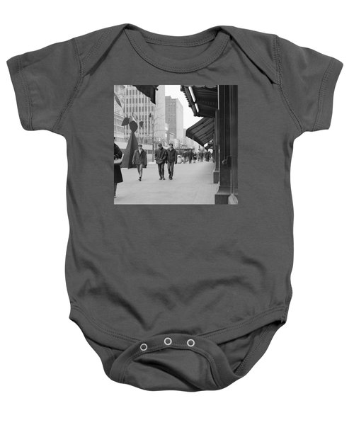 Calder Sculpture On Nicollet Mal Baby Onesie