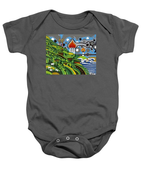 California Highway 1 Baby Onesie