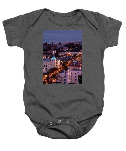 California Street At Ventura California Baby Onesie