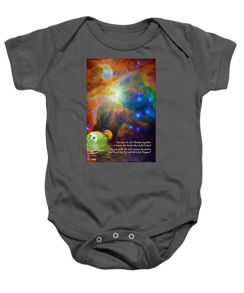Can You Tie The Pliades Together? Baby Onesie