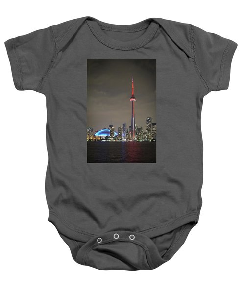 Toronto Skyline Baby Onesie
