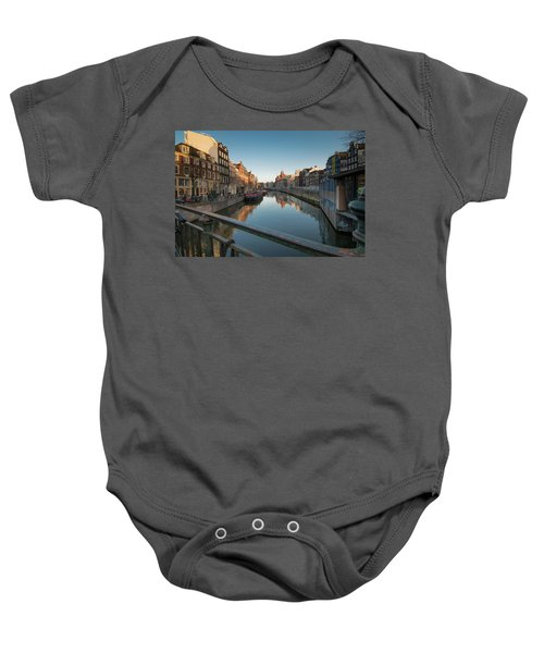 Canal From The Bridge Baby Onesie