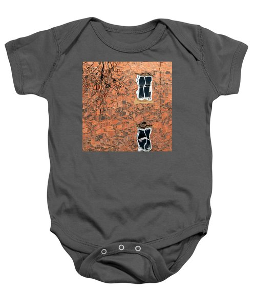 Canal Reflections 1 Baby Onesie