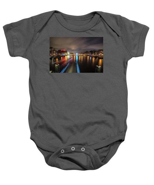 Canal Streaking IIi Baby Onesie