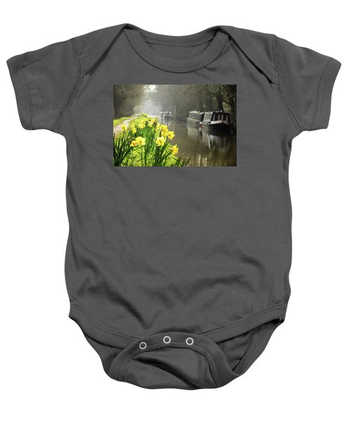 Canalside Daffodils Baby Onesie
