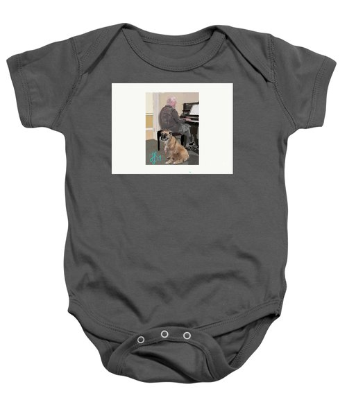 Canine Composition Baby Onesie