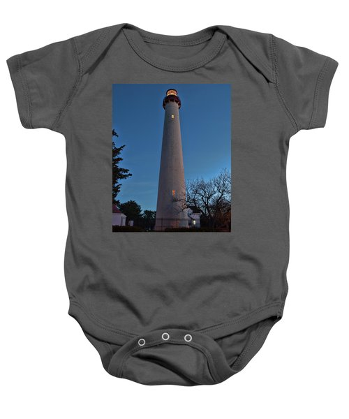 Cape May Lighthouse In Evening Baby Onesie