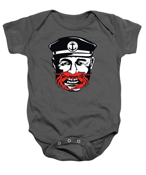 Captain Crab Of Baltimore Maryland Baby Onesie