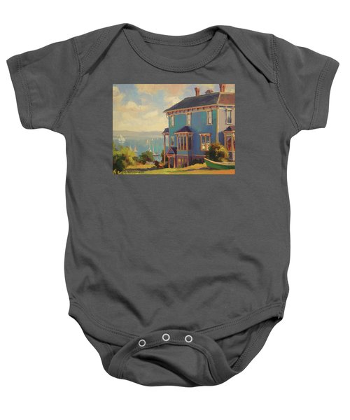 Captain's House Baby Onesie