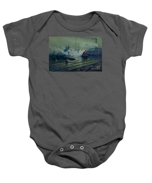 Cardiff Docks Baby Onesie