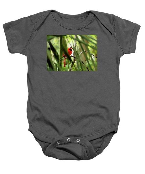 Cardinal Spy Baby Onesie