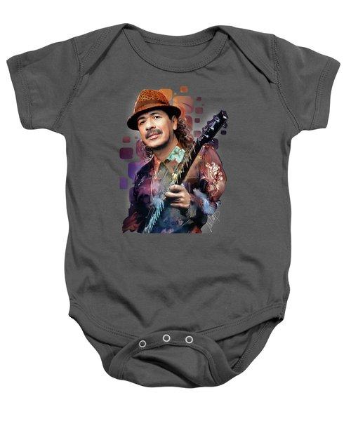 Carlos Santana Baby Onesie