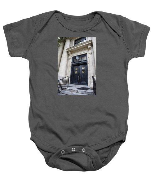 Carnegie Building Penn State  Baby Onesie by John McGraw