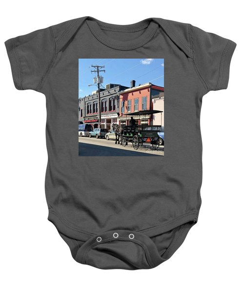 Carriage Baby Onesie