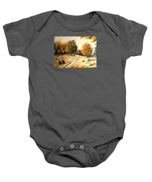 Carriage Path Baby Onesie