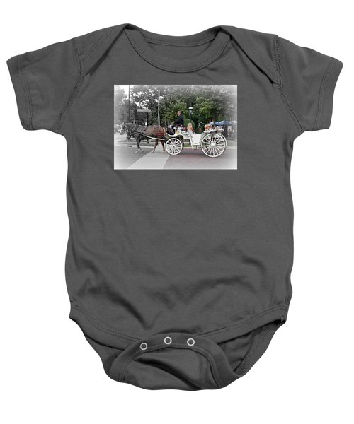 Carriage Ride Into Yesteryear Baby Onesie
