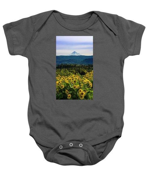 Cascade Spring Baby Onesie