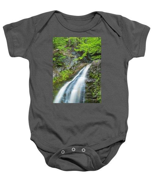 Cascade Waterfalls In South Maine Baby Onesie