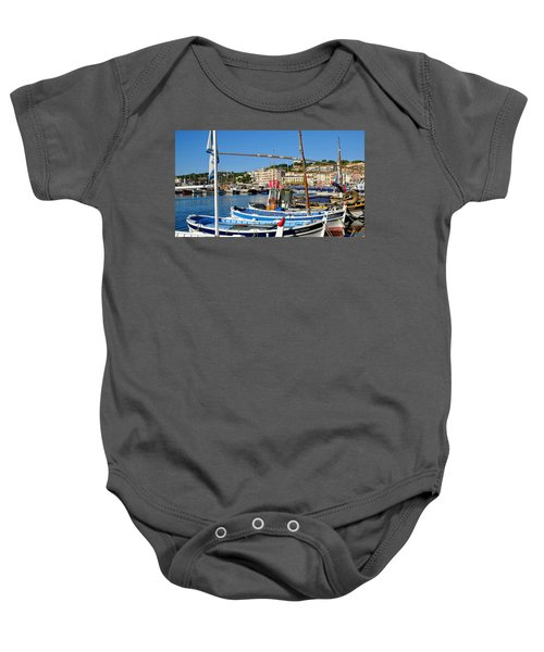 Cassis Harbor Baby Onesie