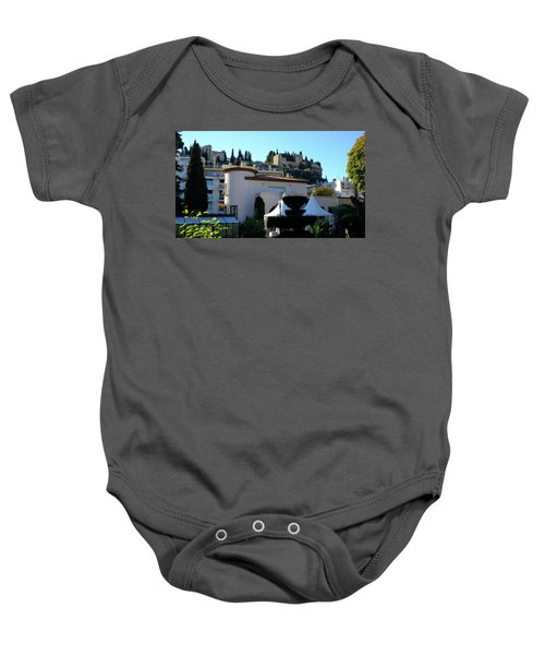 Cassis Town View Baby Onesie