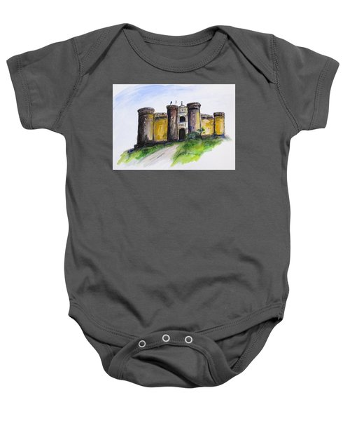 Castle Nuovo, Napoli Baby Onesie