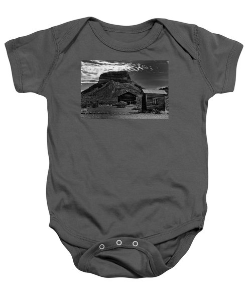 Baby Onesie featuring the photograph Castolon Ghost Town by Renee Hong