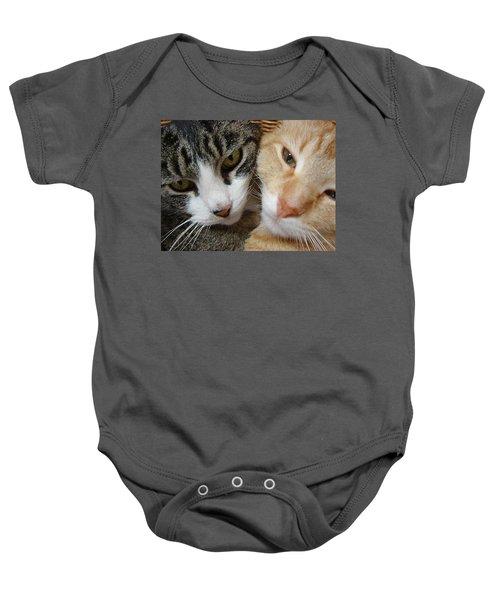 Cat Faces Baby Onesie
