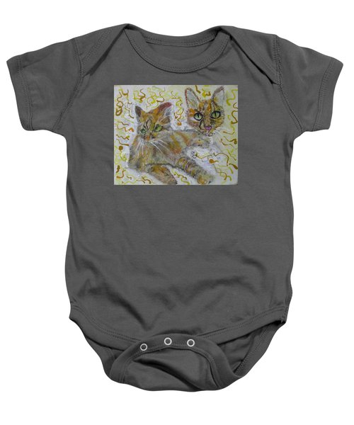 Cat Named Phoenicia Baby Onesie