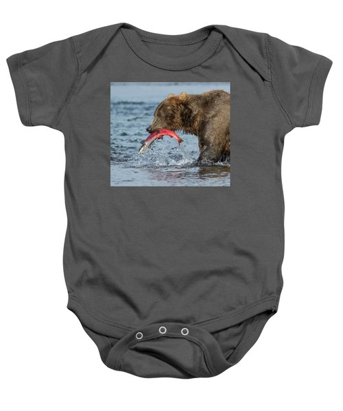 Catching The Prize Baby Onesie