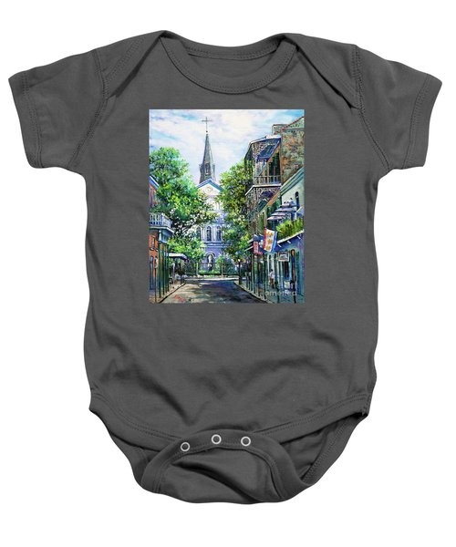 Cathedral At Orleans Baby Onesie