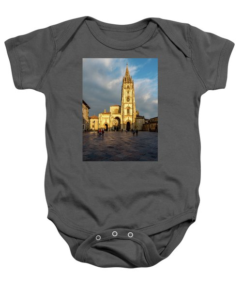 Cathedral Of Oviedo Baby Onesie