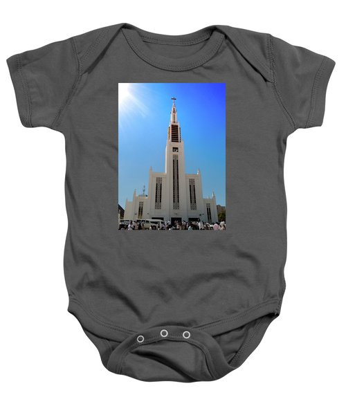 Cathedral Of The Sun Baby Onesie