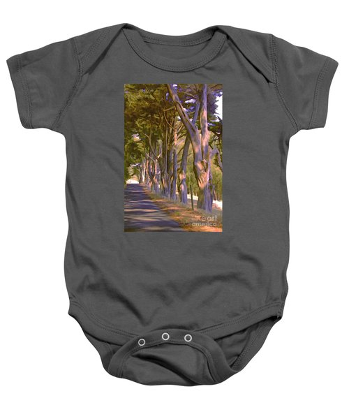 Cathedral Of Trees Baby Onesie