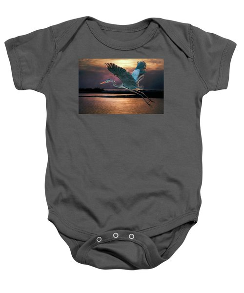 Caught In The Afterglow Baby Onesie