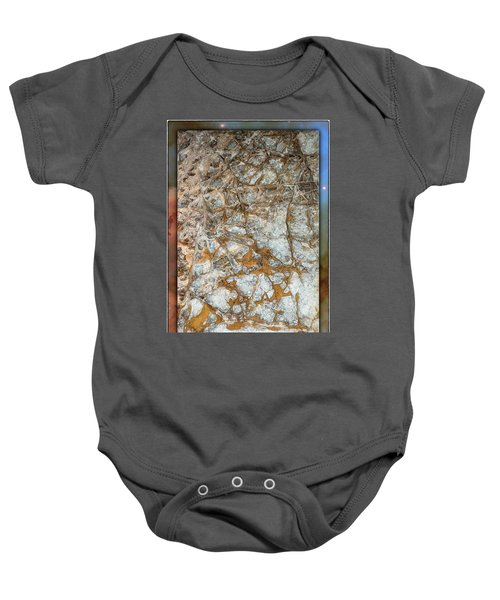Cave Abstraction.... Baby Onesie