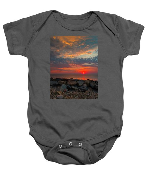 Cedar Point Sunrise Baby Onesie