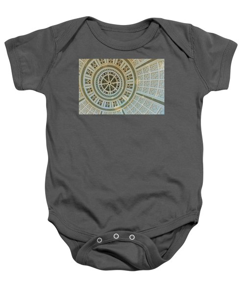 Ceiling Detail Baby Onesie by Sandy Taylor