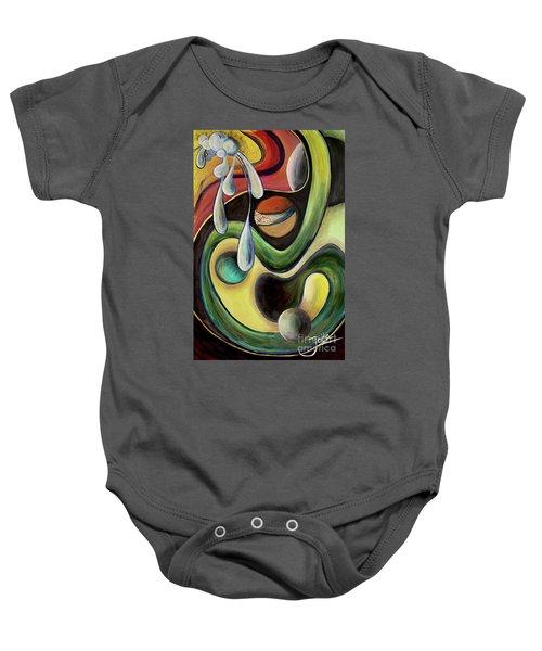 Celestial Rhythms  Baby Onesie