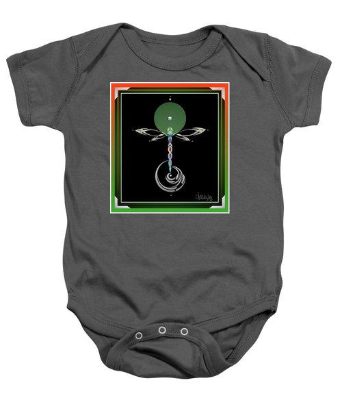 Celtic Dragonfly Baby Onesie
