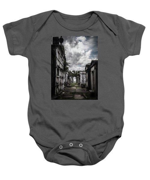 Cemetery Row Baby Onesie