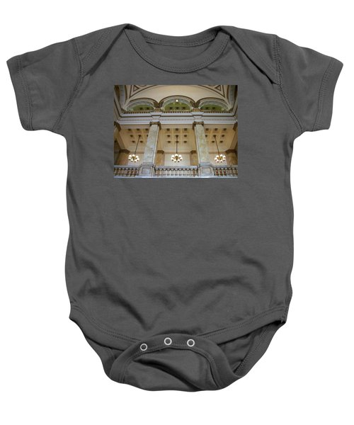 Central Library Milwaukee Interior Baby Onesie