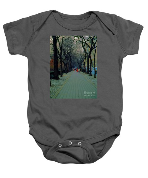 Central Park East Baby Onesie